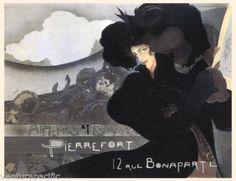 Affiche-et-Estampes-Pierre-Fort-1898-Georges-de-Feure-Art-Nouveau-Giclee-Print