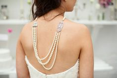 back necklaces for weddings | Wedding accessories. Back necklace. Image by ... | Bridal Accessories