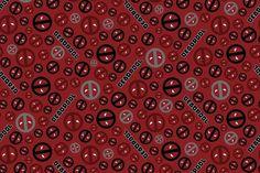 Deadpool - 4 inch Greek Letters (Iron or Sew)