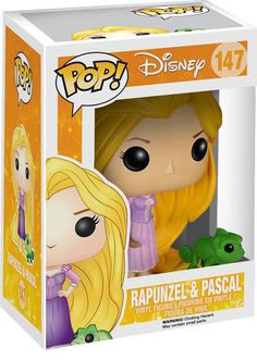 Rapunzel Pop figure