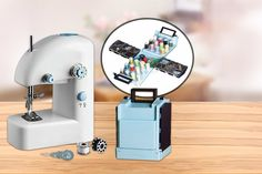 Wowcher | Deal - £9.99 instead of £29.99 for a portable sewing machine, or £14.99 for a portable sewing machine and sewing kit - save up to 67%