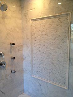 Bathroom Vanities Jericho Turnpike dark emperador with marfil master bathroom, c-line marble