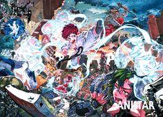 애니스타 Colorful Drawings, Art Drawings, Digital Art Tutorial, Creepy Art, Character Costumes, Anime Artwork, Art Tutorials, Illustration Art, Illustrations