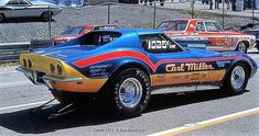 1969 Corvette NHRA Grand National #chevroletcorvette1969