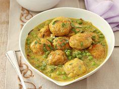Curry aux boulettes de poulet et petits pois - Femmes d'Aujourd'hui!
