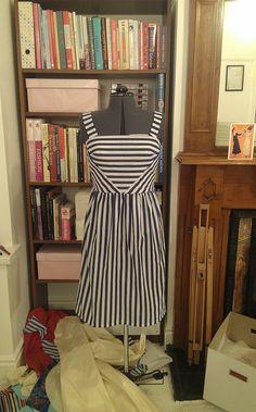 Tabatha's Striped Colette Hazel dress by Thread Carefully, via Flickr