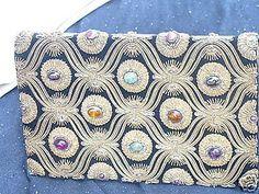 RARE-ANTIQUE-GENUINE-Designer-Vintage-Van-Cleef-and-Arpels-Jeweled-Bag-Clutch