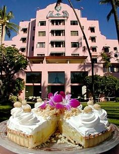 The Royal Hawaiian Hotel's Macadamia Nut Cream Pie