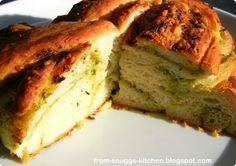 from-snuggs-kitchen: Pesto-Provolone-Knoten