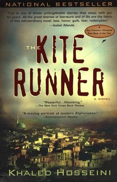 The Kite Runner - Khaled Hosseini. Chilling, but well worth the read.