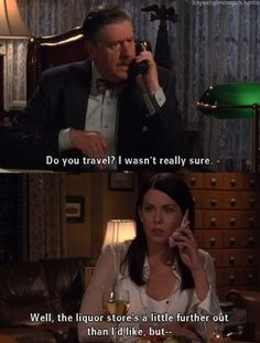 Gilmore Girls, Do You Travel?