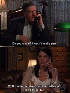 Gilmore Girls, Do You Travel?