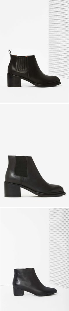 Ankle boots - perfect for a rainy day. #NastyGal