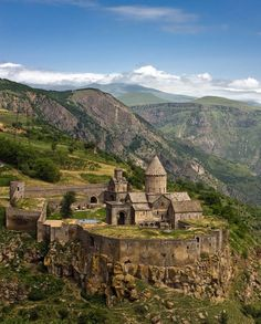 Tatev Monastery Built in the 9th century on the edge of the Vorotan River gorge in the Syunik Province of Armenia, Tatev has endured destruc...