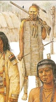 Huron warrior, c. North American Tribes, American Indians, Huron Indians, Huron Wendat, Woodland Indians, Native American Warrior, Aboriginal People, Early American, First Nations