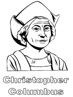 christopher columbus coloring page - 1000 images about school social studies on pinterest