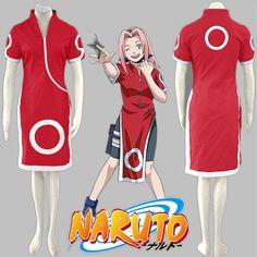 Buy Anime Naruto Haruno Sakura Cheongsam Cosplay Costume Sakura Generation Costumes Casual Dress at Wish - Shopping Made Fun Naruto Cosplay Costumes, Anime Store, Cheongsam, Anime Outfits, Halloween Outfits, Anime Naruto, Short Sleeve Dresses, One Piece, Casual