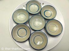 ถ้วยตะไลสำหรับใส่นึ่ง Dessert, Decorative Plates, Pumpkin, Tableware, Cake, Pumpkins, Dinnerware, Deserts, Tablewares