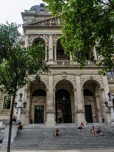 Vienna University, Heinrich von Ferstel, photo by andrea.bulhosa