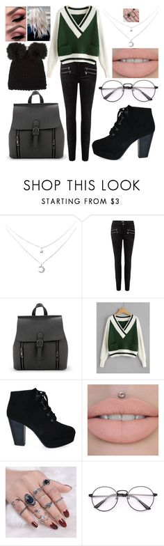"""""""That's the Slytherin Spirit"""" by drummergirl95 ❤ liked on Polyvore featuring Paige Denim and Barneys New York"""