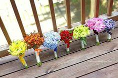 Planter Pots, Rainbow, Nice, Photography, Inspiration, Color, Rain Bow, Biblical Inspiration, Rainbows