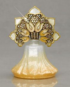 "Jay Strongwater ""Blair"" Arabesque Perfume Bottle"