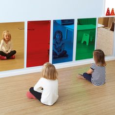 Rainbow Wall Mirrors 80 X 40cm