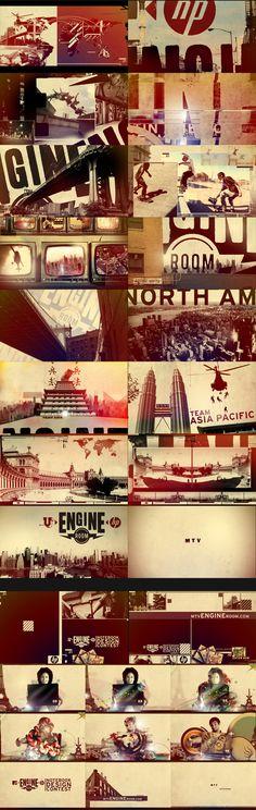 MTV Engine Room - Nate Howe Freelance Design + Art Direction