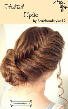 A Beautiful, Elegant Updo by Braidsandstyles12 . A perfect Updo for a special occasion or Bridal Updo , Bridesmaid Updo ;   MY YOUTUBE : https://www.youtube.com/channel/UC8ouEGIBm1GNFabA_eoFbOQ