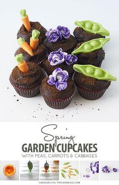 Garden Cupcakes Reci
