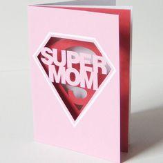 """""""Γιορτή της μητέρας"""" - Εύκολες ιδέες για κάρτες με τα πατρόν τους! » Kinderella"""