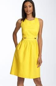 I love this simple cotton dress