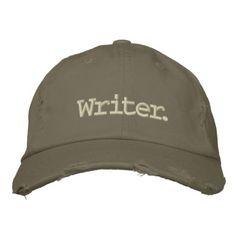 Vintage Writer Cap