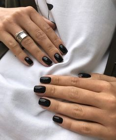 """Getting caught in the rain isn't everyone's idea of a good time — unless you're nail polish brand Essie. A quick overview of Essie's spring 2020 nail polish collection on the brand's site explains that its six new pastel shades were """"inspired by the… Pastel Nail Polish, Nail Polish Brands, Pastel Nails, Nail Polish Colors, Colorful Nails, Gel Polish, Black Gel Nails, Short Gel Nails, Black Nail Polish"""