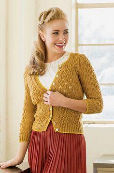 Ravelry: Rheya Cardigan pattern by Maria Leigh