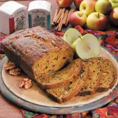 Chunky Apple Pumpkin Bread