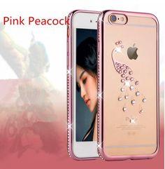 iPhone 7 Plus Case,Inspirationc Glitter Bling Crystal Rhinestone Diamonds Clear  #Inspirationc