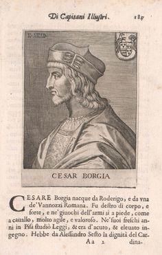 The escape of cesare borgia house of borgia pinterest - Borgia conti ...