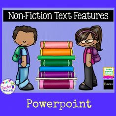 Non-Fiction Text Features help the reader make sense of what they are reading... otherwise known as Comprehension. Readers of all ages (but especially struggling readers), tend to skip over the text features provided in the text. To help readers understand the importance of text features, this Powerpoint was designed to make students more familiar with common Non-Fiction Text Features. (11 Pages)
