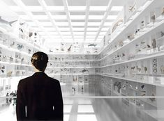 2nd Prize: Wunderkammer Museum by Septembre Architecture