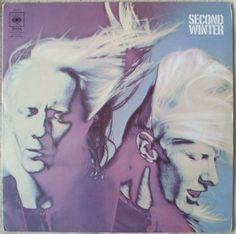 SECOND WINTER Johnny Winter 3-Sided Double Vinyl LP