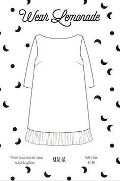 Patron de couture Malia - PDF  http://www.wearlemonade.com/fr/patrons/91-patron-de-couture-malia-pdf.html