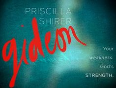 Gideon Just started this class. It's Awesome! Love Priscilla Shirer! cmm