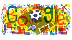 UEFA EURO 2020 Football Tournament Kick Off Commemorated in Google Doodle - AajKaNews.Site Google Doodles, Uefa European Championship, The Championship, Doodle Pages, Doodle Art, Ronaldo Quotes, Football Tournament, Football Fans, World Cup Winners