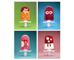 Zoku Character Kit  Freeze your own unique character pops fast with the Zoku Character Kit. Create animals, faces, and fun characters of your own design, or follow Zoku's designs included in the instruction booklet. The creative possibilities are endless! The kit includes 14 stencils, 1 faceplate, 1 stand for holding the pop maker steady, a pusher tool for removing fruit slices from the stencils, instructions, and sample character designs to get started.