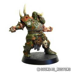 #paintingwarhammer #bloodbowl #warhammer #nurgle #blightkings #bloater