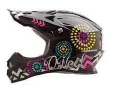 O Neal 3 Series Women s Sawyer Helmet Black Multicolor
