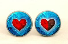 ZELDA Stud Earrings, 0345ESS from EgginEgg by DaWanda.com