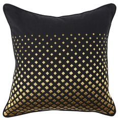 Kosas Home Dorothy /Gold Slub 22-inch Hand- Feather/Down-filled Throw Pillow