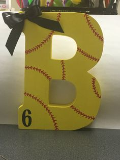 Softball letter